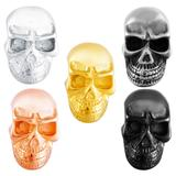 Stainless Steel Big Hole Skull Beads AA797 VNISTAR Stainless Steel European Beads