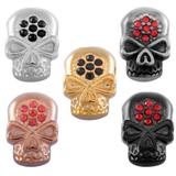 Stainless Steel Big Hole Skull Beads AA798 VNISTAR Stainless Steel European Beads