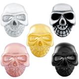 Stainless Steel Big Hole Skull Beads AA806 VNISTAR Stainless Steel European Beads