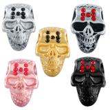 Stainless Steel Big Hole Skull Beads AA807 VNISTAR Stainless Steel European Beads