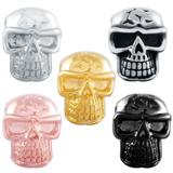Stainless Steel Big Hole Skull Beads AA809 VNISTAR Stainless Steel European Beads