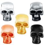Stainless Steel Big Hole Skull Beads AA810 VNISTAR Stainless Steel European Beads