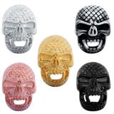 Stainless Steel Big Hole Skull Beads AA811 VNISTAR Stainless Steel European Beads