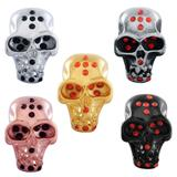 Stainless Steel Big Hole Skull Beads AA813 VNISTAR Stainless Steel European Beads