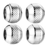 Stainless Steel Big Hole Beads AA830 VNISTAR Spacer Beads