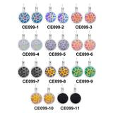 Stainless Steel Earrings CE099 VNISTAR Stainless Steel Earrings