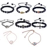 20pcs/bag Mix Designs Bracelets MC014 VNISTAR Metal Charms