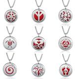 20pcs/bag Mix Designs Stainless Steel Lockets MC016 VNISTAR Metal Charms