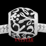 Vnistar antique silver metal european beads PBD2559 PBD2559 VNISTAR Metal Charms