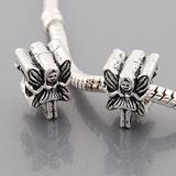 vnistar antique silver plated angel beads PBD3175 PBD3175 VNISTAR Alloy Plain Beads