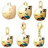 Stainless Steel Emoji Charms VC005G VNISTAR Emoji Steel Charms