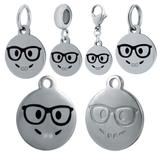 Stainless Steel Emoji Charms VC021 VNISTAR Emoji Steel Charms
