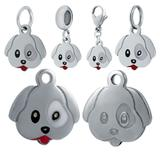 Stainless Steel Emoji Charms VC024 VNISTAR Emoji Steel Charms