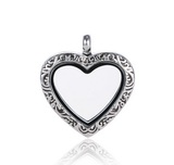 Vnistar metal alloy heart locket charm VSP057 VSP057 VNISTAR Metal Charms